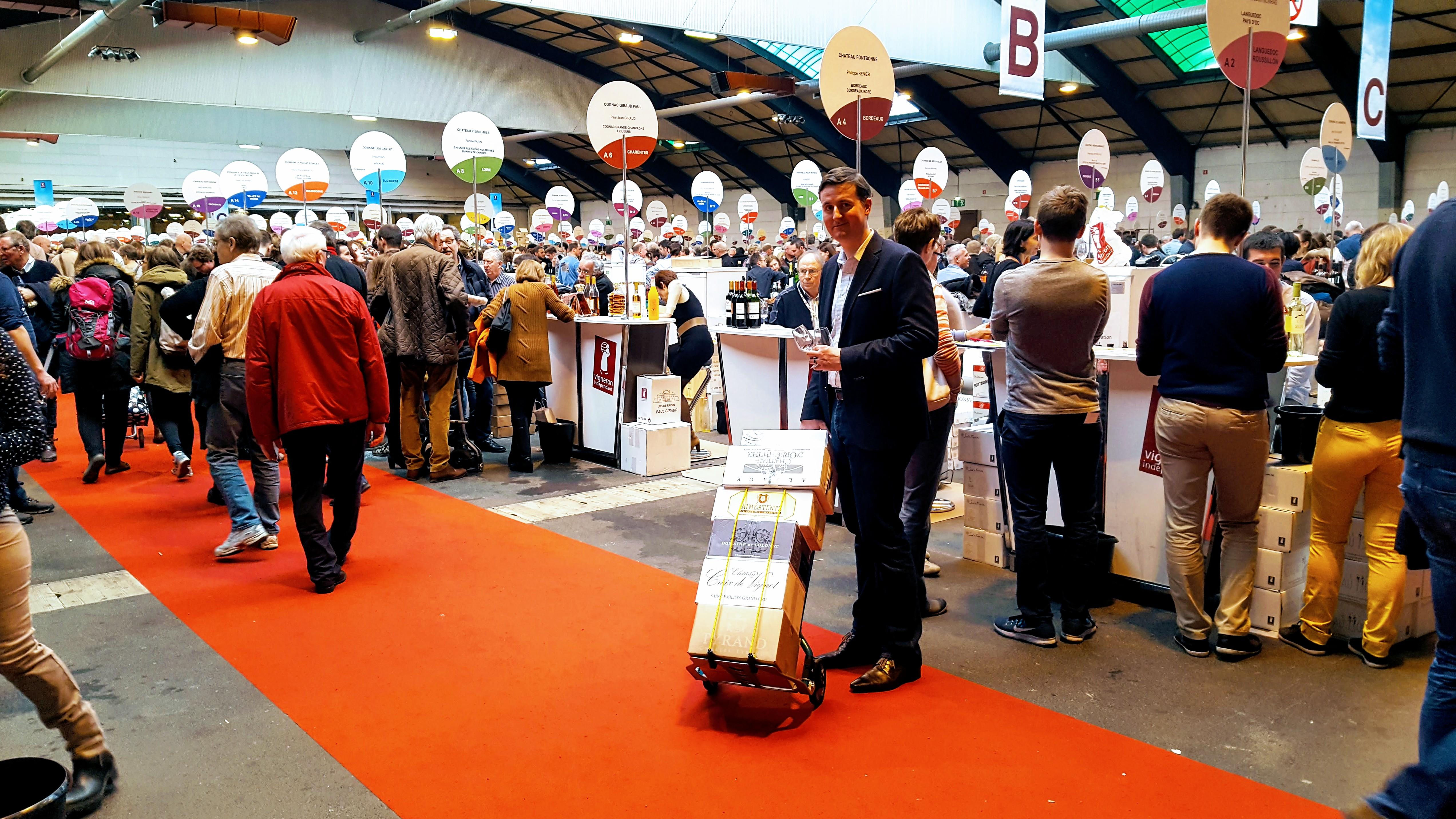Salon des vins des vignerons ind pendants strasbourg 2017 our - Salon des vignerons independants strasbourg ...
